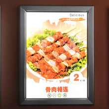 OEM service A0--A4 size aluminum frame LED quilting light box for ad display