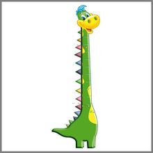 Animal Cute Design PP Plastic Eco-friendly Growth Chart for Children As Promotional Gift