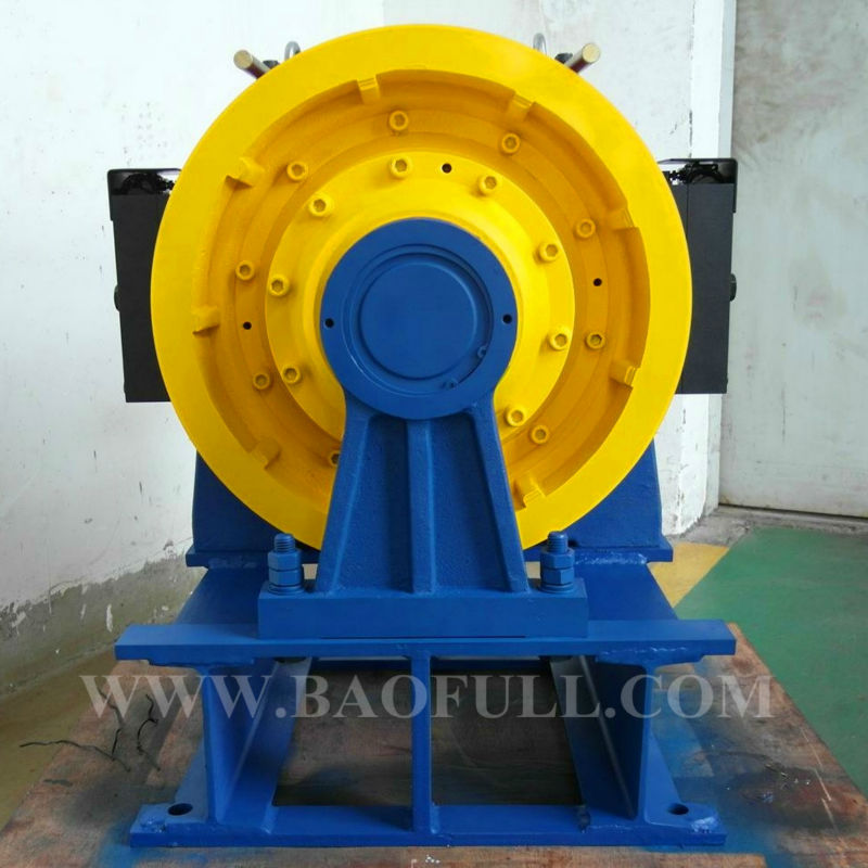 High quality magnet motor|gearless traction machine elevator parts