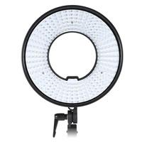DVR-300D Photography Studio LED Ring Light 300 LEDs CRI 95+ 5500K Color LED Video Light Panel Lamp for DSLR Camera Camcorder