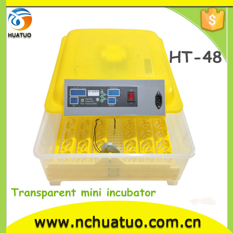latest microprocessor technology industrial 48 chicken incubator for sale