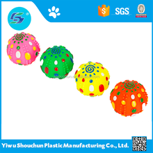 SC pet toys for dog rubber ball and small pet toy