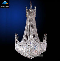 Silver pendant lamp light