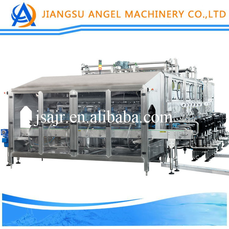 2017 convenient 5 gallon mineral water bottling machine/3 gallon water filling production line/rinsing filling capping machine