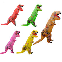 Hot Selling Inflatable Mascot Costume T-rex Inflatable Costume Walking Inflatable Dinosuar Costume