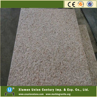 Discount six sides flamed G682 granite tiles 50x50