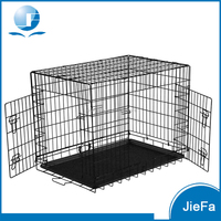Folding metal xxl puppy dog crate JF-PCP-572