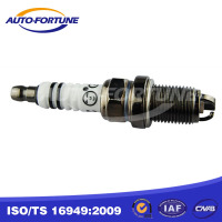 Chery auto spare parts, three heads spark plug A11-3707110BA, K7RTJC for Chery A3, A5