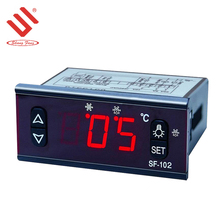 Two sensors refrigeration defrost fan touch button remote temperature controller