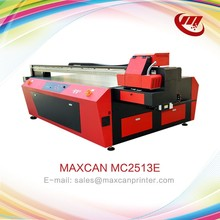 Wall sticker UV flatbed printing machine 3d CE 5 colors PVC card printer for sale