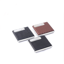 JL-088N Yiwu Jiju Cigarette Case With Usb Electronic Lighter
