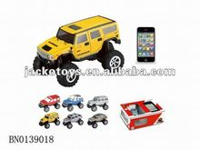 Radio control toys,1:60 5CH mini rc jeep with light