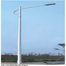 customized high voltage steel lamp pole