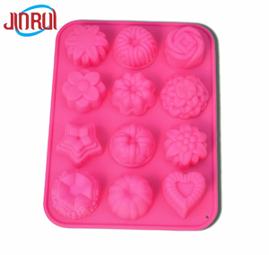 Silicone Mold heart-shape Forms Fondant Cake Decorating Tools Moulds Chocolate Molds for Kitchen Xmas Soap Baking Tools