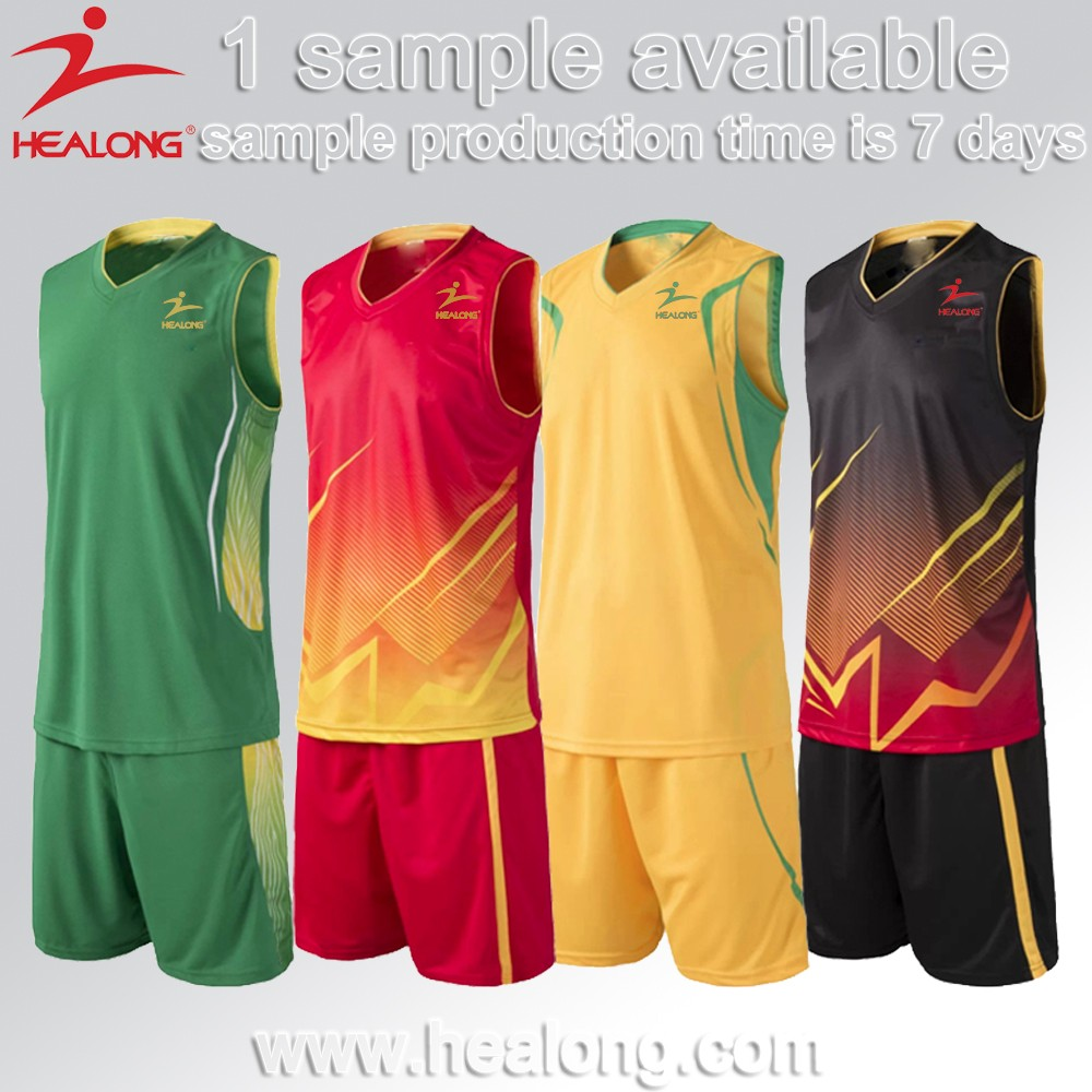 Sublimated Best Custom Latest Kids Sports Basketball Jersey Uniform Set Wear Clothing Design