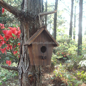 outdoor wooden bird house(FSC Certificate)