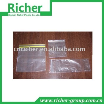 Clear Custom LDPE Plastic Ziplock Bag for Food Packing