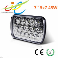 7x6 45w LED Headlight Durable Truck Headlight Sealed Beam Replacement