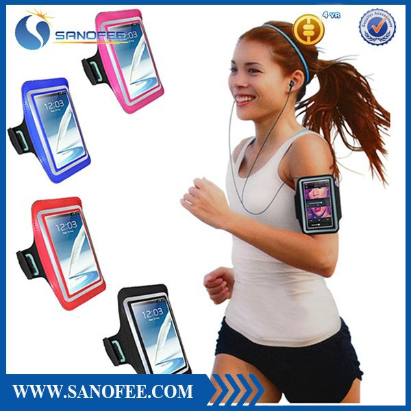 running sports fabric armband case,mp3 player armband