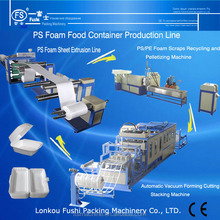Small Full-auto PS Foam Containers Fast Food Box Making Machine