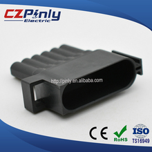 Male and Female car electrical connector pbt gf15 gf20 gf25 gf30