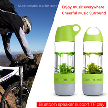 factory wholesale wireless sport water bottle bluetooth outdoor speaker