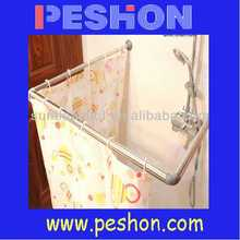 Fashion shower curtain rod cover