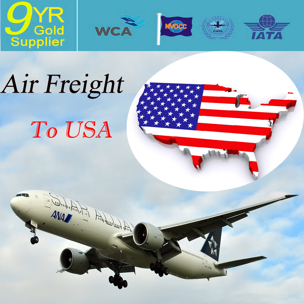 cheapest air freight from China to ORD/LAX/USA