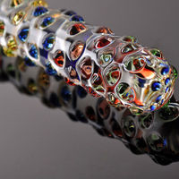 Hot selling beautiful glass dildos ,crystal glass didlos for sale