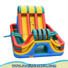 High quality inflatable slide, inflatable obstacle slide, giant slip and slide