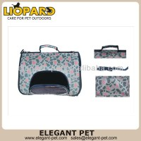 Popular hot sell flannel material pet carrier dog