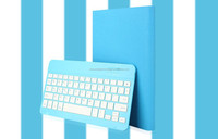 folding stand shockproof bluetooth keyboard PU leather case for Ipad mini
