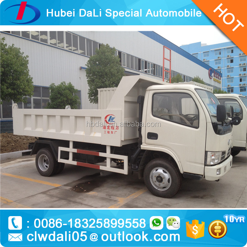 Dongfeng 4x2 small Dump Truck 2 ton mini dumper truck dump for sale