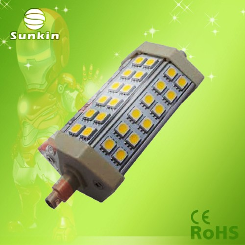 high quality 118mm 10w led r7s
