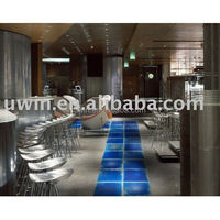 Interior decorative lava floor tiles,liquid floor