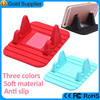Wholesale universal custom logo desk silicone cell phone microfiber phone stand