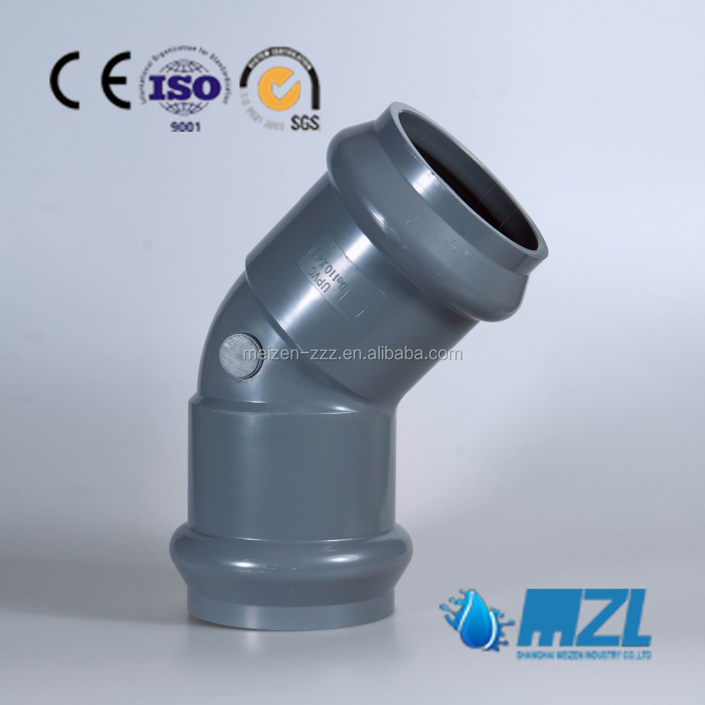 PVC rubber ring joint fittings with cheap price