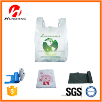 Sample free customized PE plastic bags for sale