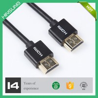 China male to male pc hdmi cable for hdtv 3d 1080p