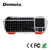 Handheld 2.4Ghz Wireless Keyboard ABS Mini Bluetooth Wireless Touchpad Keyboard