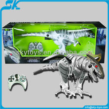 2012 the Hot and New rc robot Hot sale rc dinosaur with walking&Turning