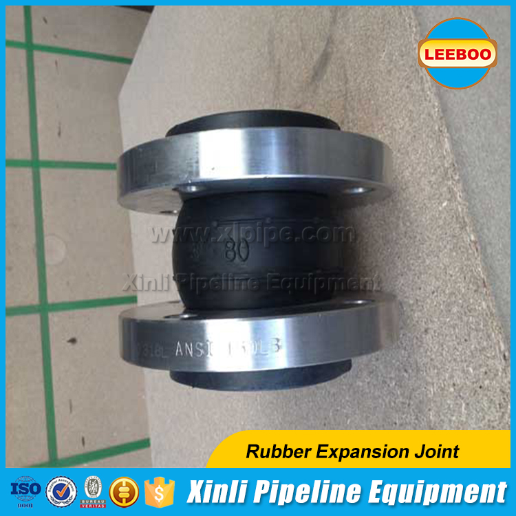 Forged equal shape rubber pipe joint