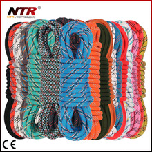 NTR customized colored double braided nylon rope 3mm-20mm