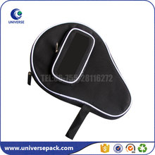 China wholesale custom tennis racket bag with outside zipper pocket