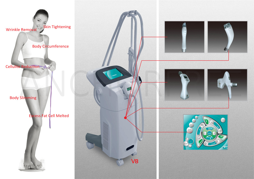Best Selling Anti Aging Laser Lipolysis Beauty Machine (V8)
