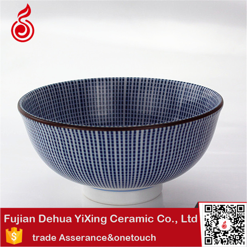 bowl Chinese style factory direct wholesale hand-printing high-grade antique ceramic small ceramic cereal bowl