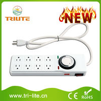 Greenhouse 24 Hours 8 Outlets Power Strip Digital Ballast
