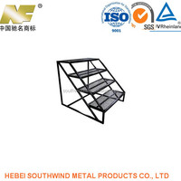 OEM High Precision Welding Metal Boxing Ring Stairs Accessories Manufacturing