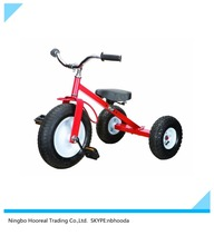Heavy Duty All Terrain Trike Kids Off Road Tricycle with Wagon Set Pull Along Trike Toy Outdoors Kids Exercise