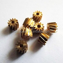 High precision small gears M0.4*10T for toys